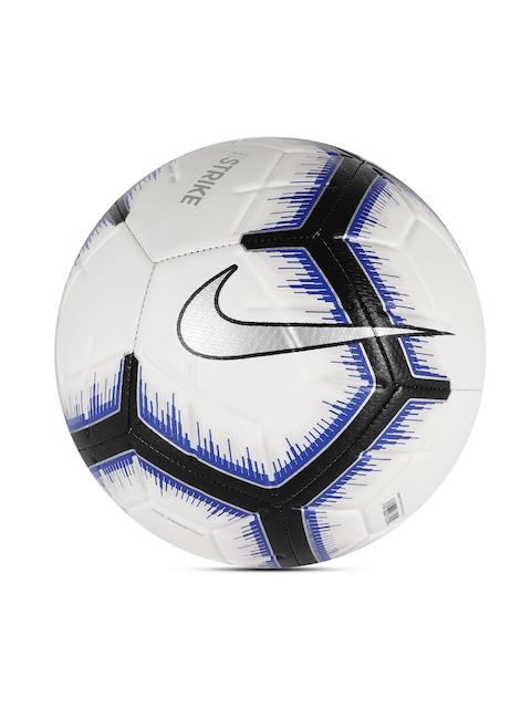 Nike Unisex White & Black Strike Football