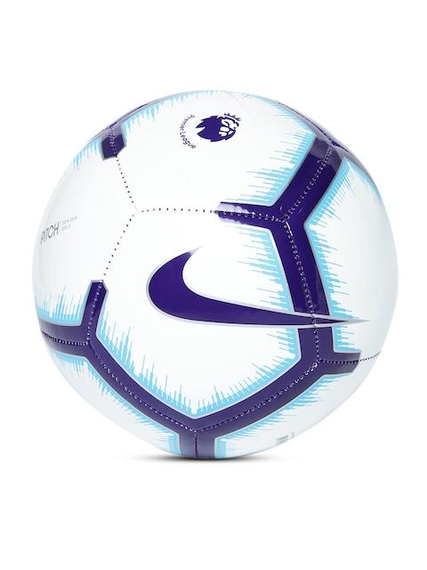 Nike White & Blue Premier League Pitch FA18 Football