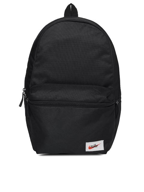 Nike Unisex Black Solid HERITAGE Backpack