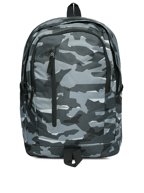 Nike Unisex Black & Grey Graphic ALL ACCESS SOLEDAY Backpack