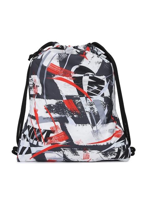 Nike Unisex Black & White Graphic Backpack