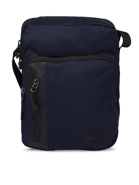 Nike Unisex Azul Marinho Sólida Mala De Viagem