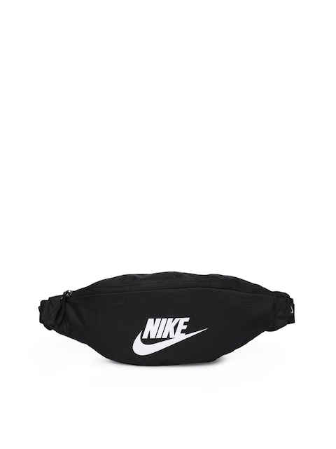 Nike Sportswear Heritage Unisex Black Solid Waist Pouch