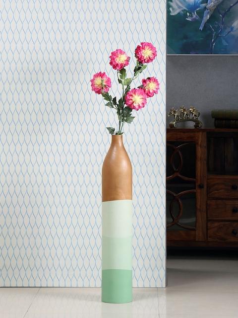 Athome by Nilkamal Multicoloured Cylindrical Vase