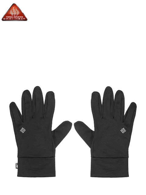 Columbia Unisex Black Solid Omni-Heat Touch Gloves