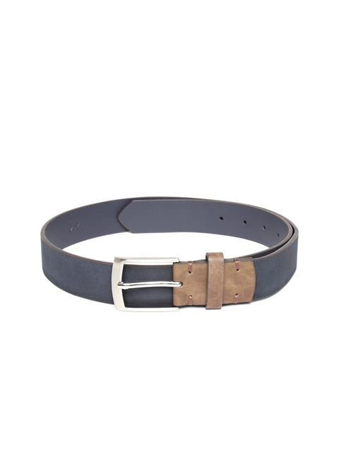 HAMILTON Men Navy Blue Solid Belt