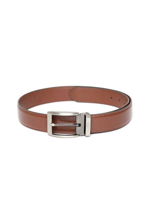 HAMILTON Men Brown Solid Formal Belt