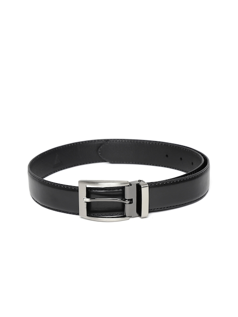 HAMILTON Men Black Solid Formal Belt