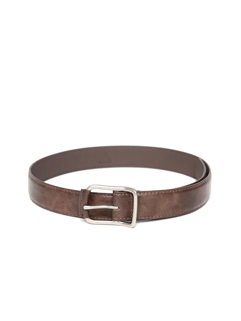 HAMILTON Men Brown Solid Belt