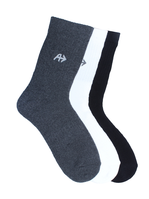 Arrow Men Pack of 3 Assorted Above Ankle Length Socks