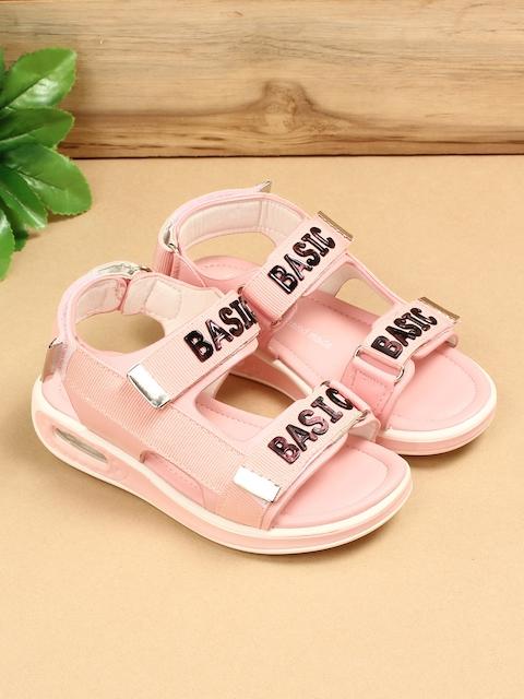 Walktrendy Girls Pink Comfort Sandals