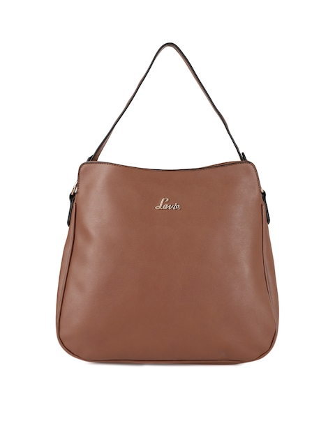 Lavie Tan Solid Handheld Bag