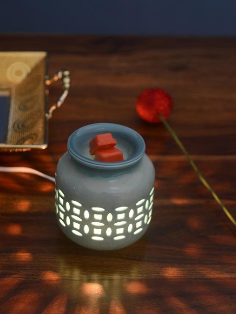Athome by Nilkamal Set of 3 Orange Tangerine Bliss Candle Wax Tarts