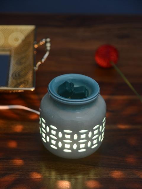 Athome by Nilkamal Set of 3 Green Deep Evergreen Candle Wax Tarts