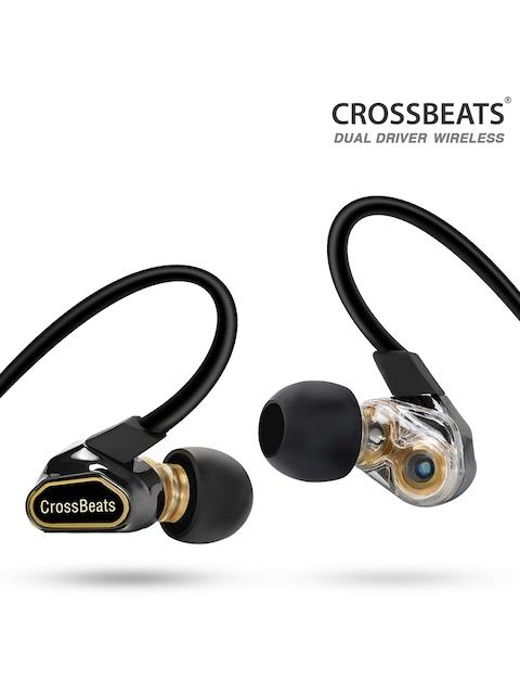 CrossBeats Unisex Black FUSION Dual Driver Wireless In Ear Earphones X000UM8VQ1