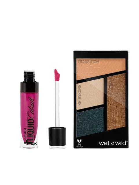 Wet n Wild Set of Eyeshadow & Lipstick