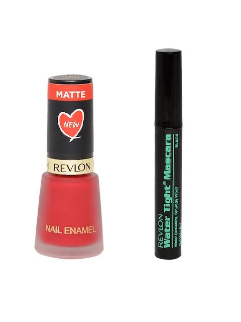 Revlon Black Water Tight Mascara & Nail Enamel