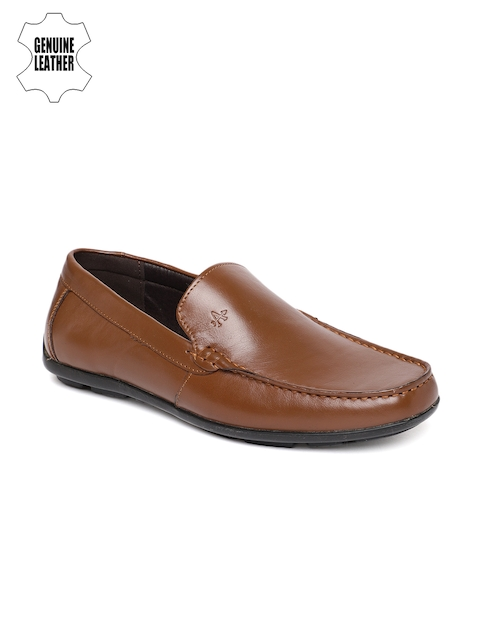 Arrow Men Brown Roman Formal Leather Loafers