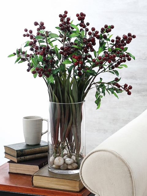 Pure Home and Living Transparent Cylindrical Vase