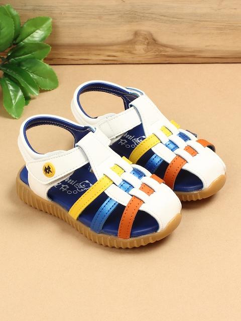 Walktrendy Girls White Fisherman Sandals