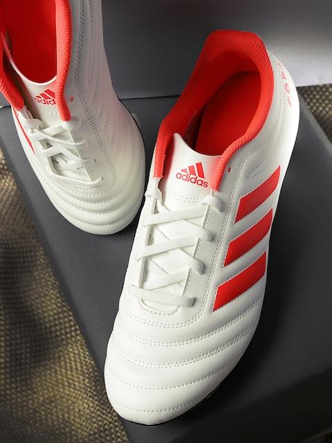 ADIDAS Men Off-White COPA 19.4 FG Football Shoes