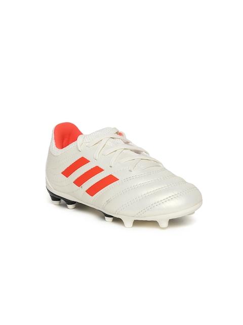 ADIDAS Boys Off-White COPA 19.3 FG Football Shoes