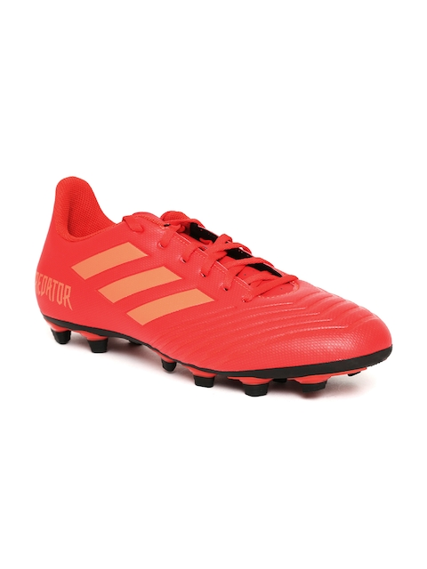 ADIDAS Men Red Predator 19.4 FXG Football Shoes
