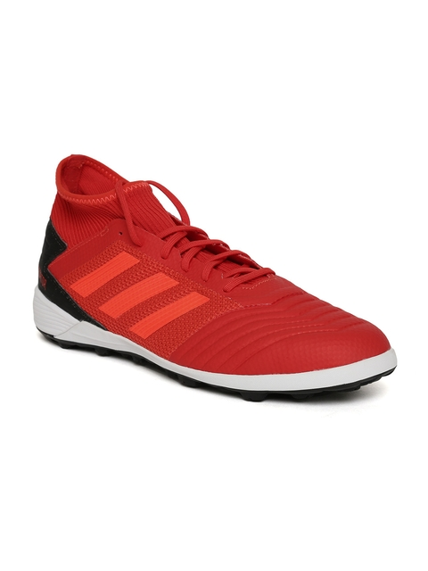 ADIDAS Men Red Predator 19.3 TF Football Shoes