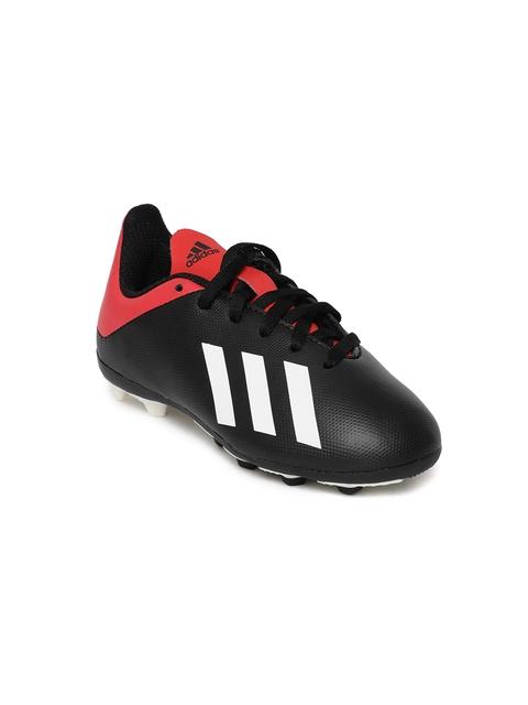 Adidas Boys Black X 18.4 FXG J Football Shoes