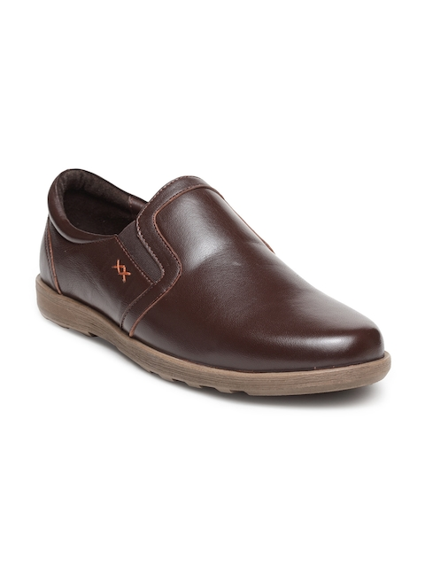Teakwood Leathers Men Brown Solid Leather Flat Boots