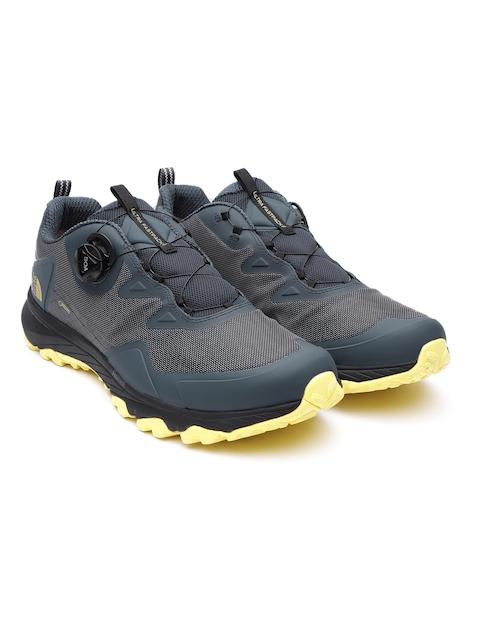 The North Face男ネイビーブルー&グレー M超Fastpack III BOA GTXハイキング靴