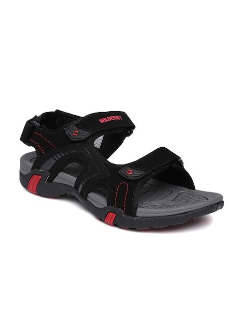 Wildcraft Men Black Comfort Sandals