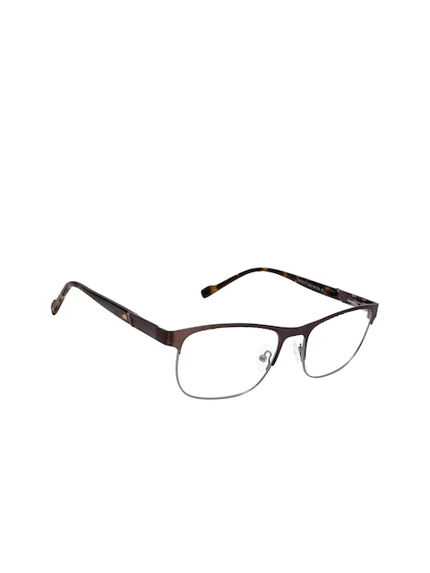 David Blake Unisex Brown Solid Full Rim Square Frames LCEWDB1672CKNS10117C3