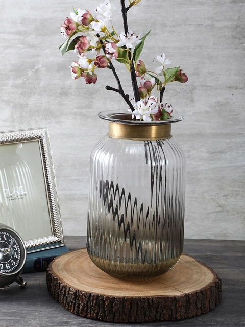 Pure Home and Living Gold-Toned Medium Luster Vase