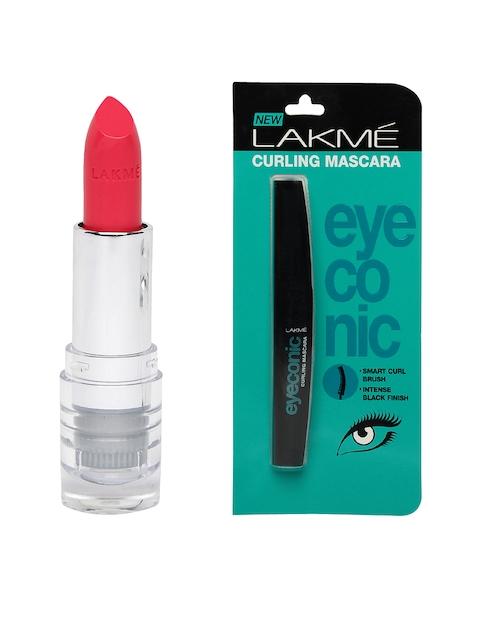 Lakme Eyeconic Curling Mascara & Satin Lipstick