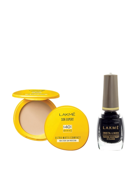 Lakme Set of Insta-Liner & Compact