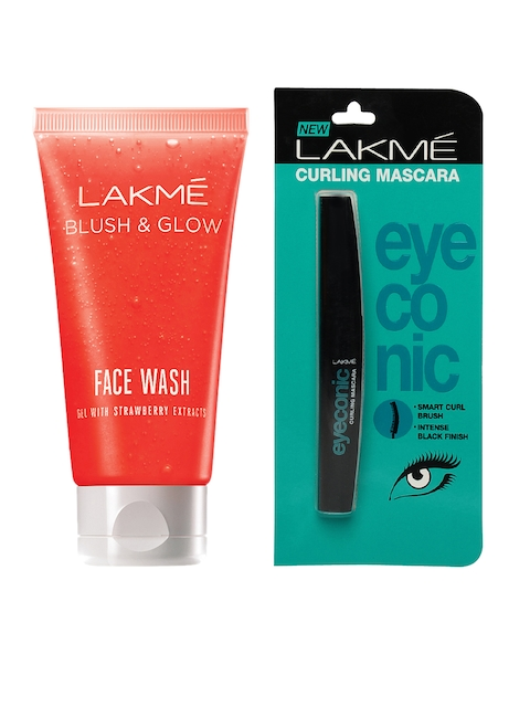 Lakme Set of Mascara & Gel Face Wash