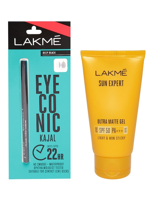 Lakme Set of Kajal & Gel Sunscreen