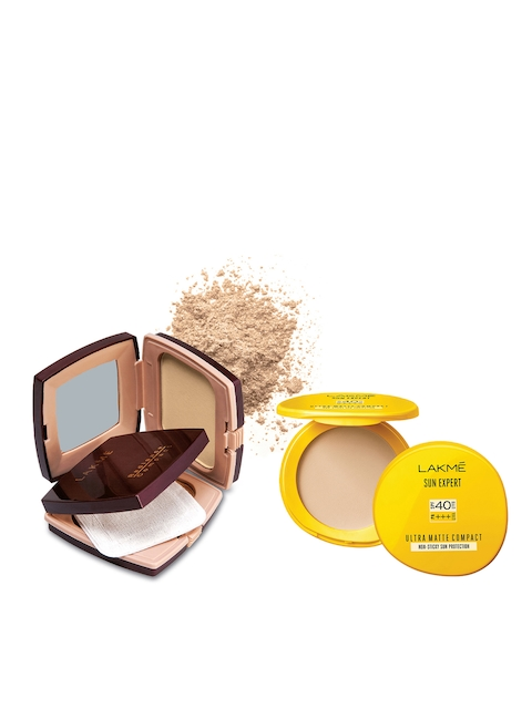 Lakme Set Of Two Compacts