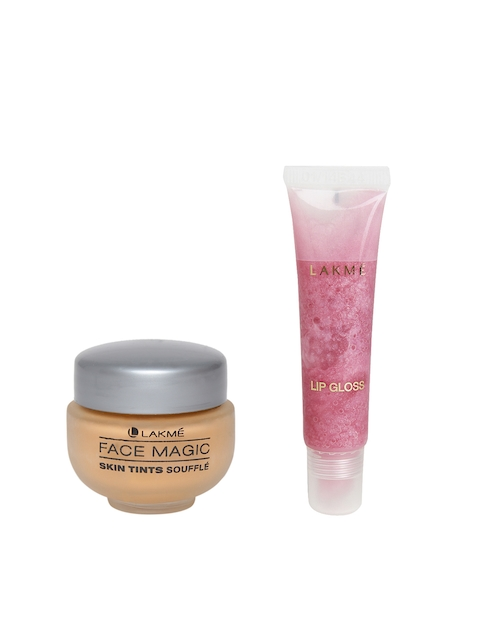 Lakme Set of Foundation and Lip Gloss