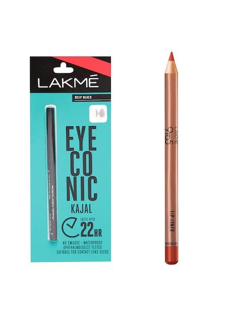 Lakme Set of Eyeconic Kajal & Lip Liner