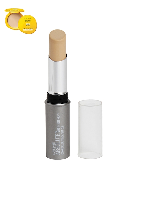 Lakme Set of White Intense Medium 03 Concealer Stick & Ultra Matte SPF 40 PA+++ Compact