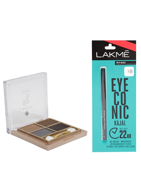 Lakme Set of Kajal & Eye Color Quartet