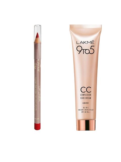 Lakme Set of Lip Liner & CC Cream