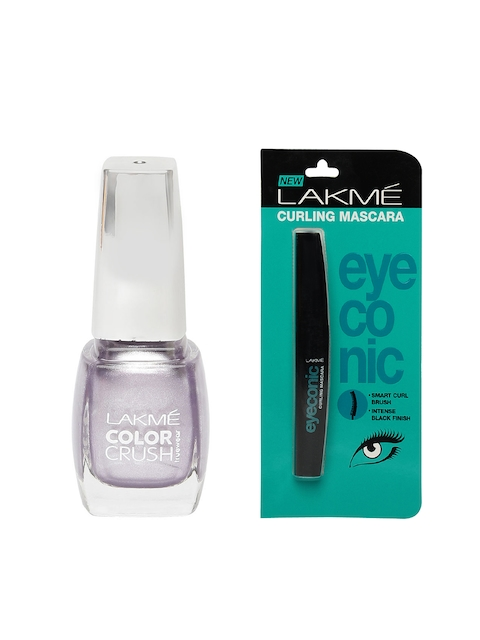 Lakme Set Of Mascara & Nail Polish