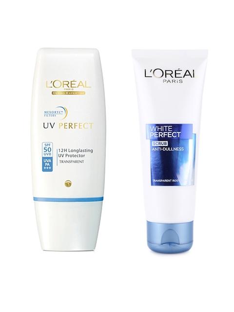 LOreal Paris Sunscreen with SPF 50 & Scrub