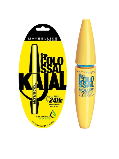 Maybelline New York Set of Kajal & Mascara
