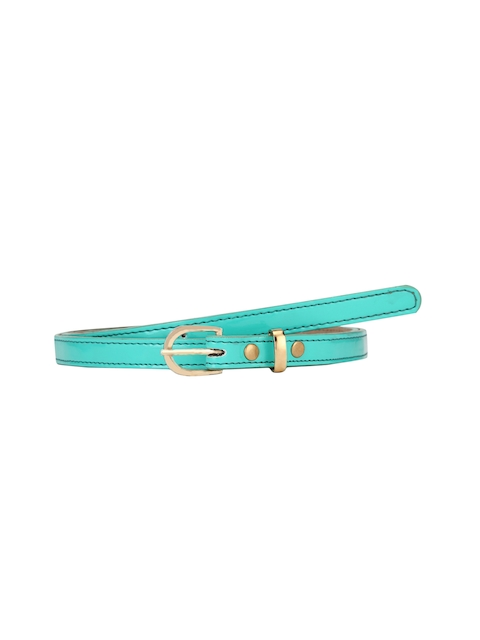 Aditi Wasan Women Green Solid Belt