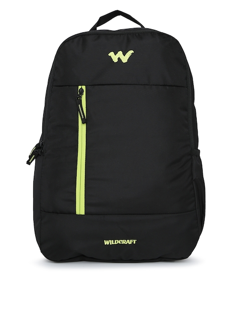 Wildcraft Unisex Black Solid Comet Backpack