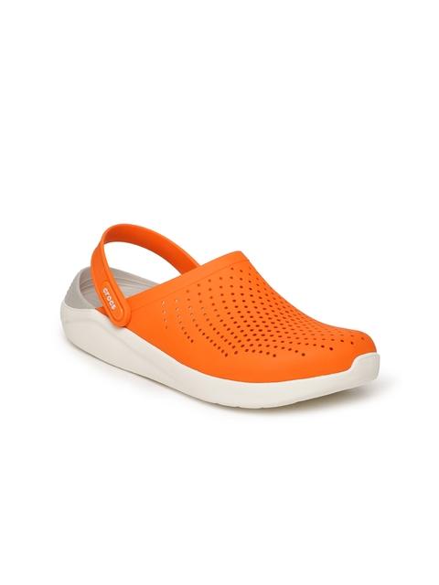 Crocs Unisex Orange Clogs